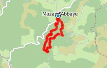 Circuit familial à Mazan l'Abbaye