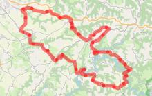Circuit Velo - C15 Les Routes De La Fluorine