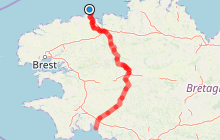 V7 - Roscoff >>> Concarneau [145.9 km]