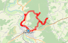 Balade à vélo - Verdun, le champ de bataille