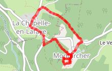 Rando-jeu Montarcher/La Chapelle en Lafay