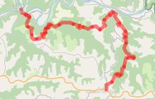 Tour du Tarn à cheval : Ambialet / Alban