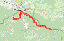 Tour du Tarn à cheval : Peyremaux / Mazamet