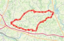 """Circuit l'Ain à vélo n° 2 - Le """"pré carré"""" des Sires de Bâgé"""