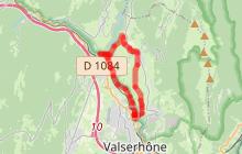 Circuit 13 Les pertes de la Valserine - Espace VTT-FFC Entre Jura et Léman