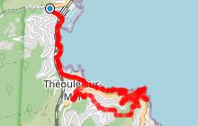 Découverte de Théoule et de la Pointe de l'Aiguille