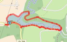 Barrage/lac de Fontbonne (Ste Gemme)