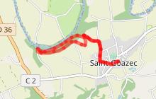 Saint-Goazec : Le Chemin des Ardoisières
