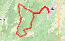 Balade verte à Rully RU5: Le Mont Palais