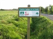 Itinéraire cyclable entre Mormaison, Saint André Treize Voies et Saint Sulpice le Verdon