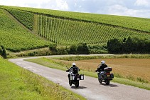 Virée à moto n°2: Route Touristique du Champagne