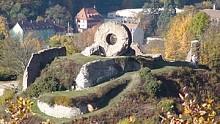 """Les ruines du Château de l'Engelbourg """"Oeil de la Sorcière"""""""