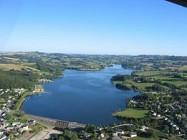 Circuit v�lo autour du lac de Villefranche de Panat - 11km