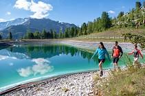 Itin�raire de randonn�e : Le Lac des Pierres Blanches par l'Esselet