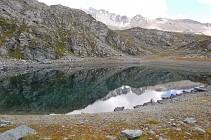 Itinéraire de randonnée : Le Lac du Friolin