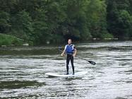 Stand Up Paddle sur la rivière Guiers