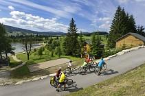 Tour du Fort et lac des Rousses (VTC - VAE Station des Rousses)