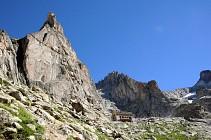 Vallon du Soreiller et l'Aiguille Dibona