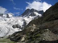 Glacier de la Pilatte aux sources du Vénéon