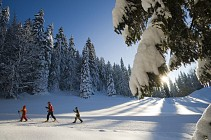 BALADASKI : Tour du Crêt Pela en ski de fond