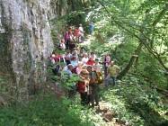 Sentier des grottes