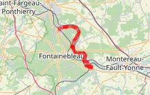 La Seine à vélo ' De Bois-le-Roi à Moret-sur-Loing