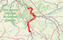La Scandibérique sud Seine-et-Marne  ' de Bois-le-Roi à Souppes-sur-Loing