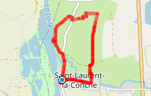 Saint-Laurent-la-Conche - La balade des cinq croix