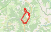 Les quatre cols N°13 - Moyen 24km - 3h30