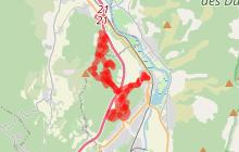 Les Grandes Côtes  n°13 - Difficile 23km - 2h30