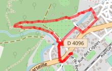 Les Bancau du Champ de Gau n°21 - Trés facile  2km - 30min