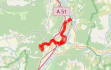 Parcours VTTAE - Difficulté moyenne 38km - 3h30