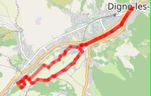 Le lac de Gaubert N°11-Trés facile 13km ' 1h30