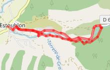 L'Estoublaïsse N°21-Trés facile 6km - 0h45