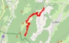 """Randonnée raquettes """"Le Mont Forchat"""" depuis Lullin"""