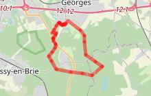 Circuit pédestre en forêt régionale de Ferrières