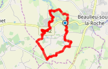 Sentier du Jaunay - BEAULIEU SOUS LA ROCHE (85)