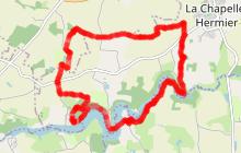 Itinéraire VTT Vallée du Jaunay / n°1 bleu