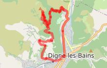 Enduro Sommet de l'Andran N°25-Difficile 4km '30min