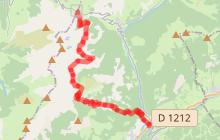 Col des Aravis - Bogneuve - Chaucisse - Flumet