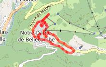 Tour du village de Notre Dame de Bellecombe