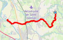 GR765 - Chemin de Saint Jacques de Compostelle : Saint-Médard-en-Forez / Rivas