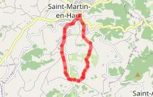 Circuit de randonnée E : Le Maperoux