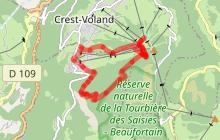 Le Mont Lachat depuis le Cernix