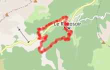 La Touvière - La Caronière - Randonnée