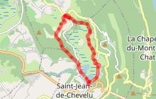 """Randonnée pédestre """"Lacs et Marais de St Jean de Chevelu"""""""
