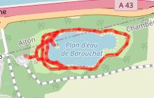 Promenade confort : Plan d'eau de Barouchat
