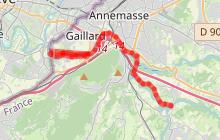 Les bords de l'Arve - De Gaillard à Arthaz