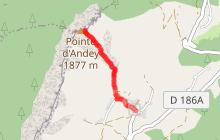 La Pointe d'Andey