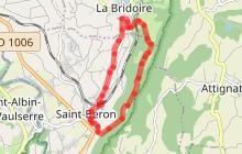 Sentier de randonnée G8 - La boucle des Copettes - St Béron
